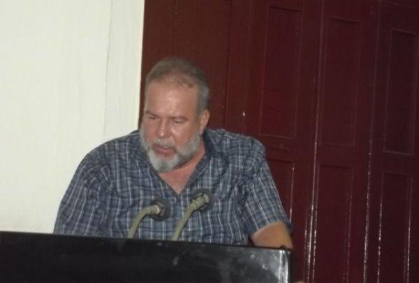 Ministro de Turismo, Manuel Marrero Cruz.