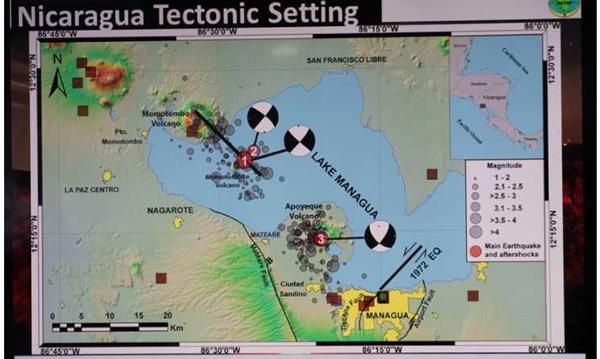 Dispone Nicaragua del primer supersitio volcánico de Centroamérica