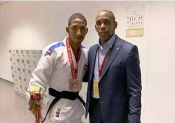 Conquista el bronce cubano Polanco en Grand Slam de Judo