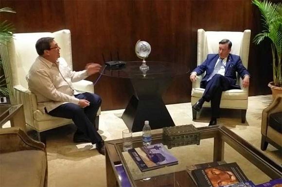 Canciller cubano realiza visita oficial a Panamá