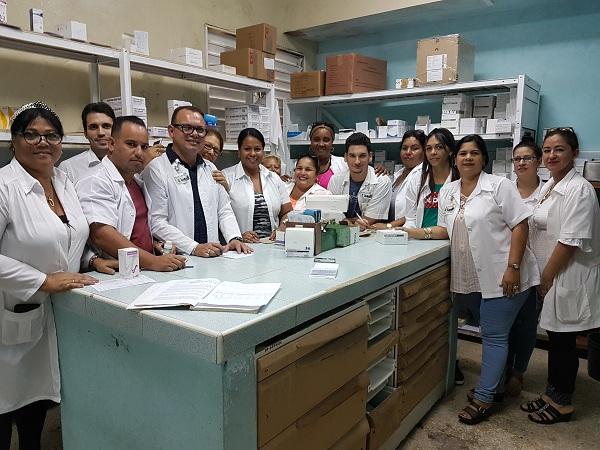 Farmacéuticos: imprescindibles en el sistema cubano de Salud (+Audio y fotos)