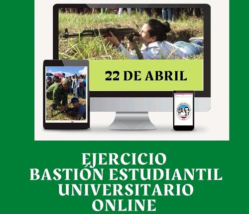 Universidad de Camagüey realizará Bastión Estudiantil online