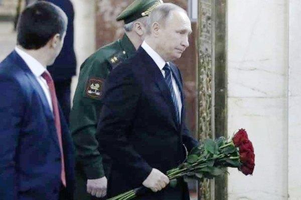 Asiste Presidente ruso a funerales de diplomático asesinado en Ankara