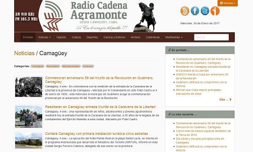 www.cadenagramonte.cu: 16 años de travesía digital