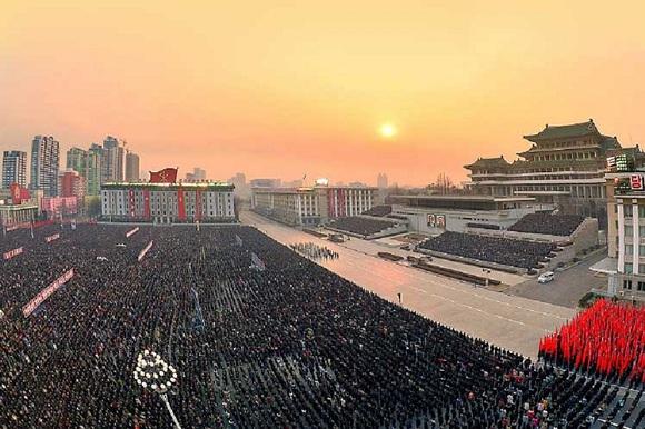 Masivo respaldo al mensaje de nuevo año del líder Kim Jon Un (+Fotos)