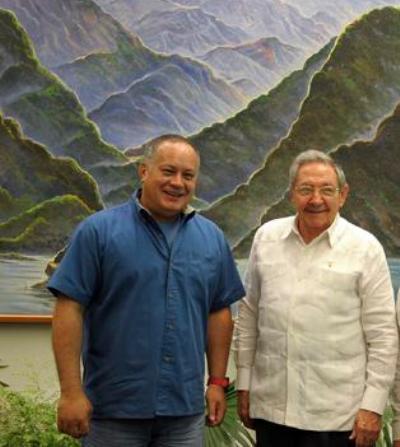 Diosdado Cabello souligne la force de la Révolution dans un message à Raul Castro