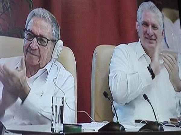 Presidieron Raúl Castro y Díaz-Canel clausura del Encuentro Antimperialista y contra el Neoliberalismo