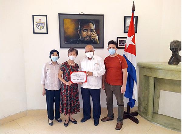 Recibe Cuba donativo de amigos vietnamitas para el enfrentamiento a la COVID-19