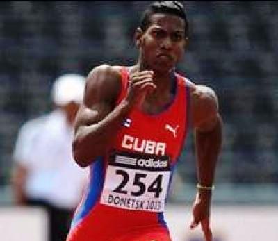 Velocista cubano con medalla de bronce en Iberoamericano de Atletismo