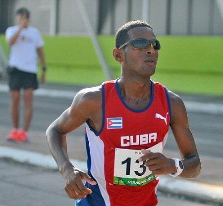 Cubano Richer feliz en su primera meta olímpica