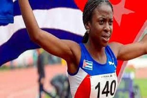 Dominó camagüeyana Rose Mary Almanza carrera de 800 metros en Grand Prix de Polonia