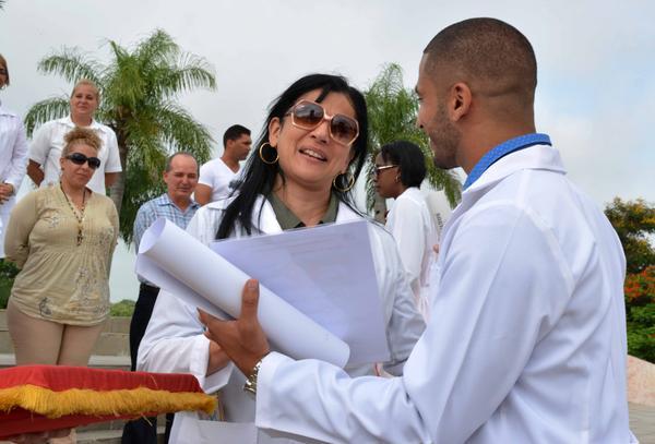La solidaridad en las aulas cubanas