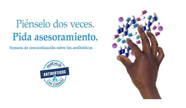 Advierte OMS sobre amenaza de resistencia a los antibióticos