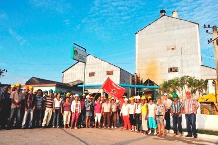 Vanguardia Nacional el camagüeyano ingenio Siboney