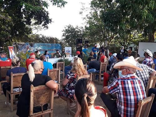 Pobladores de Siete Palmas intercambian con máximas autoridades  provinciales en Camagüey (+ Fotos)