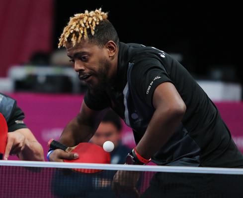 Avanza en preolímpico de tenis de mesa cubano Jorge Moisés Campos