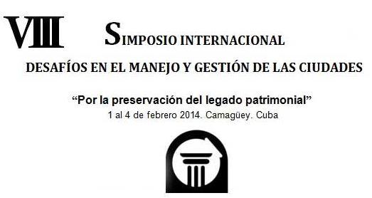Se prepara Camagüey para próximo Simposio Desafíos en el manejo y gestión de Ciudades