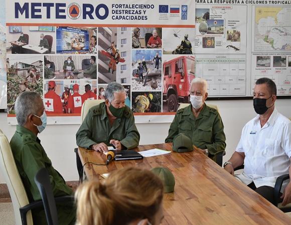 Finaliza en Cuba ejercicio de la Defensa Civil Meteoro 2021