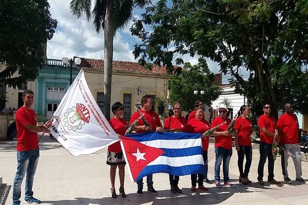 Delegación camagüeyana a la I Conferencia Nacional del SIndicato de Trabajadores de la Cultura.