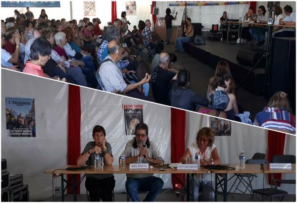 Abel Prieto diserta sobre Cuba en Fiesta de L'Humanité