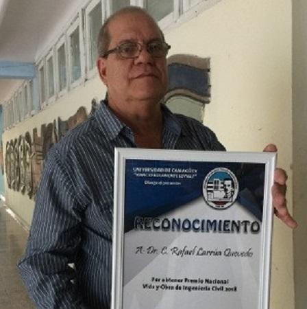 Académico camagüeyano asesorará programa constructivo nacional