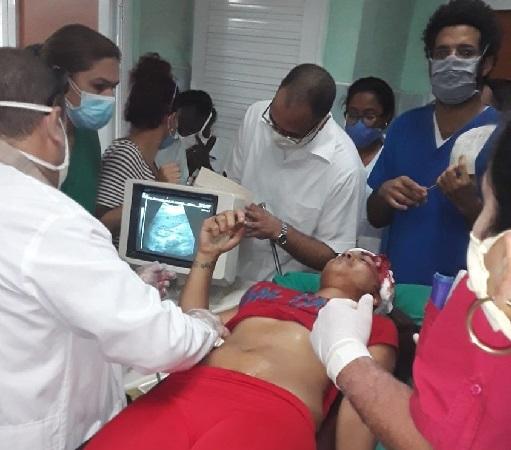 Reciben atención médica especializada 32 lesionados en accidente de tránsito en Camagüey (+ Fotos)