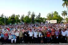 Camagüey: Ratifican agramontinos fidelidad al Socialismo