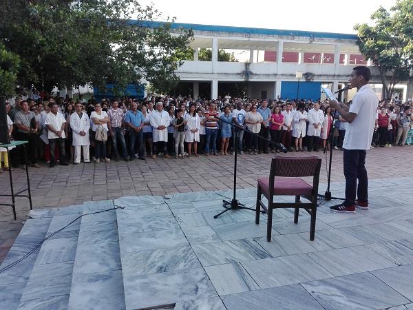 Homenaje camagüeyano a los estudiantes de Medicina asesinados hace 147 años (+ Fotos)