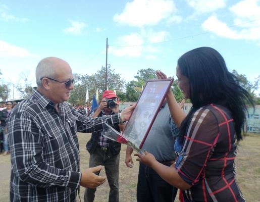 Acogió Minas celebración provincial por el Día Internacional de la Mujer