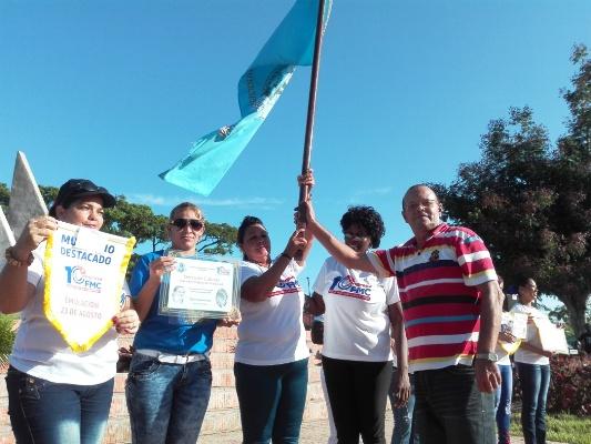 Camagüeyanas celebran aniversario 58 de la Federación de Mujeres Cubanas
