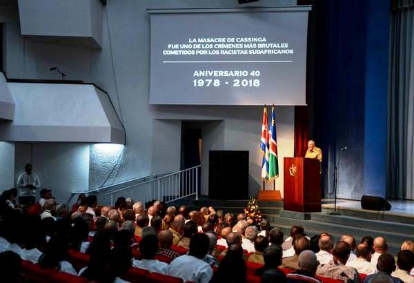 Desatacan papel de internacionalistas cubanos para impedir masacre mayor en Cassinga