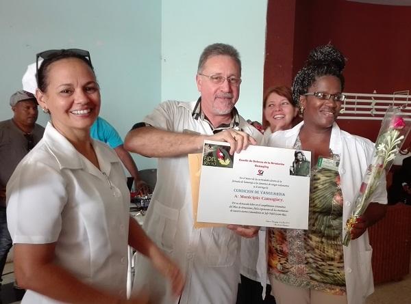 Reconocen en Camagüey a donantes voluntarios de sangre (+ Fotos)