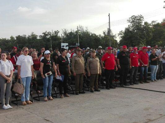 Hoy en Florida, Camagüey, celebración provincial por Día de la Rebeldía Nacional