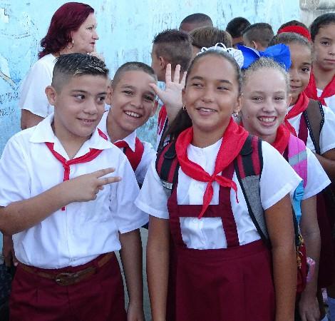 Escuelas camagüeyanas reabren sus puertas (+ Fotos)