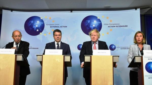La Unión Europea defiende acuerdo nuclear iraní ante amenazas de EE.UU.