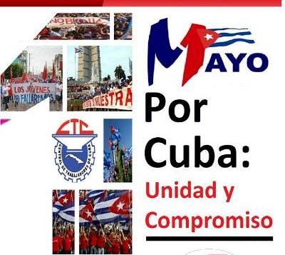 May Day parade in Cuba.