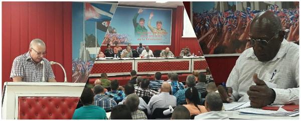 Primer Vicepresidente cubano chequea en Camagüey programa de producción de alimentos