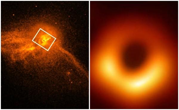 Primera imagen de un agujero negro ratifica teoría de Einstein