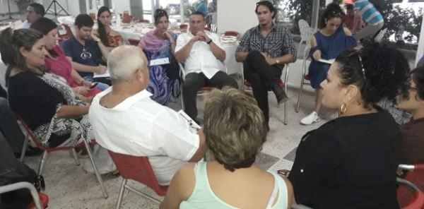 Camagüeyanos a 3er Congreso de AHS comparten con máximas autoridades de la provincia