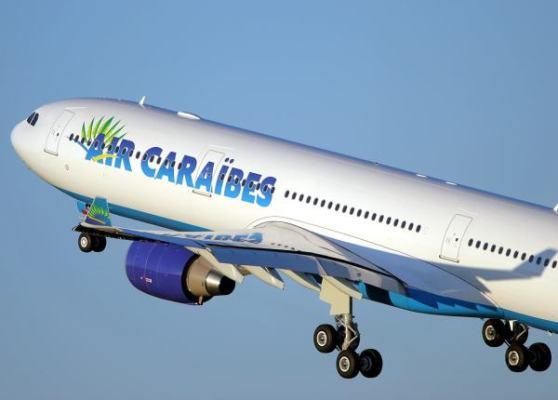 Aerolínea francesa Air Caraibes comenzó vuelos a Cuba