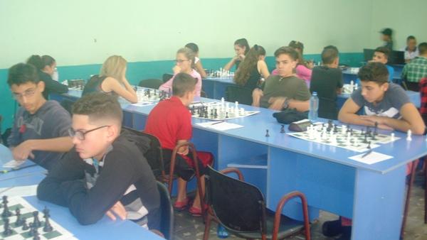 Primera jornada del Torneo de Ajedrez por el aniversario de Camagüey