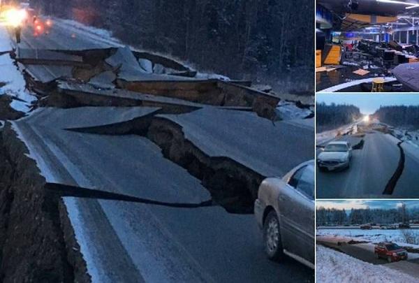 Terremoto de siete grados Richter en Alaska