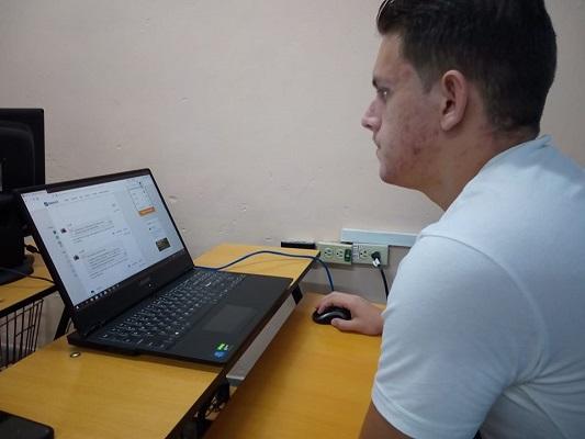 """""""Me he preparado muy bien"""", asegura camagüeyano Albornoz sobre Olimpiada Mundial Online"""