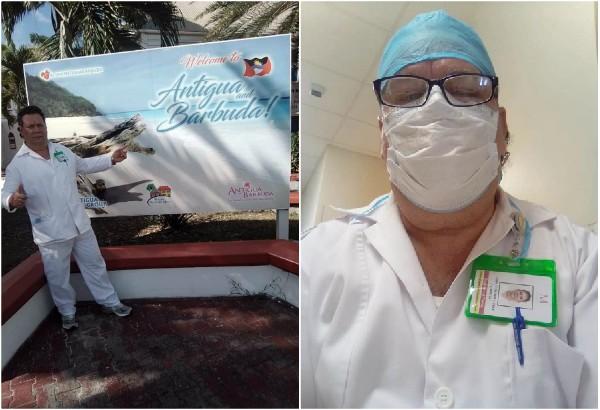 Enfermero de Florida lleva la solidaridad del Camagüey al Caribe anglófono