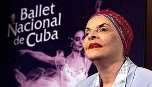 Homenaje en Cuba a Alicia Alonso en el centenario de su natalicio