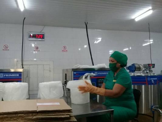 Diversifica sus producciones Pasteurizadora de Nuevitas (+ Fotos)