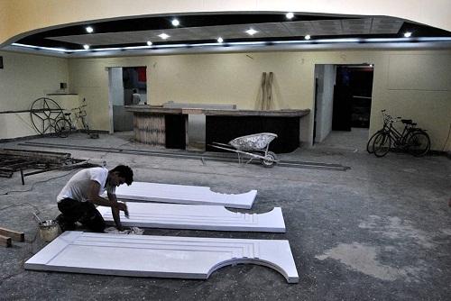 En su etapa final remodelación del camagüeyano cine-teatro Alkázar