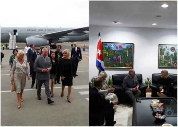 Comienza primera visita oficial a Cuba de miembros de familia real británica