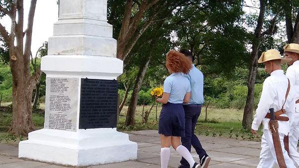 Camagüey commémore l'anniversaire 150 du Soulèvement de Las Clavellinas