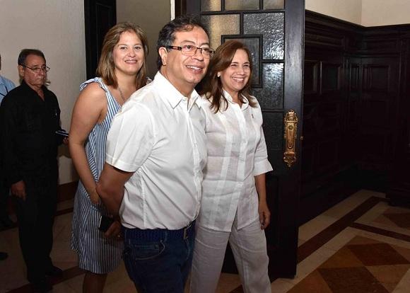 Vicepresidenta del Parlamento cubano recibió a senador colombiano